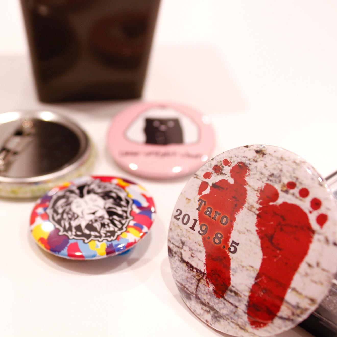 写真:缶バッジ【75mm】