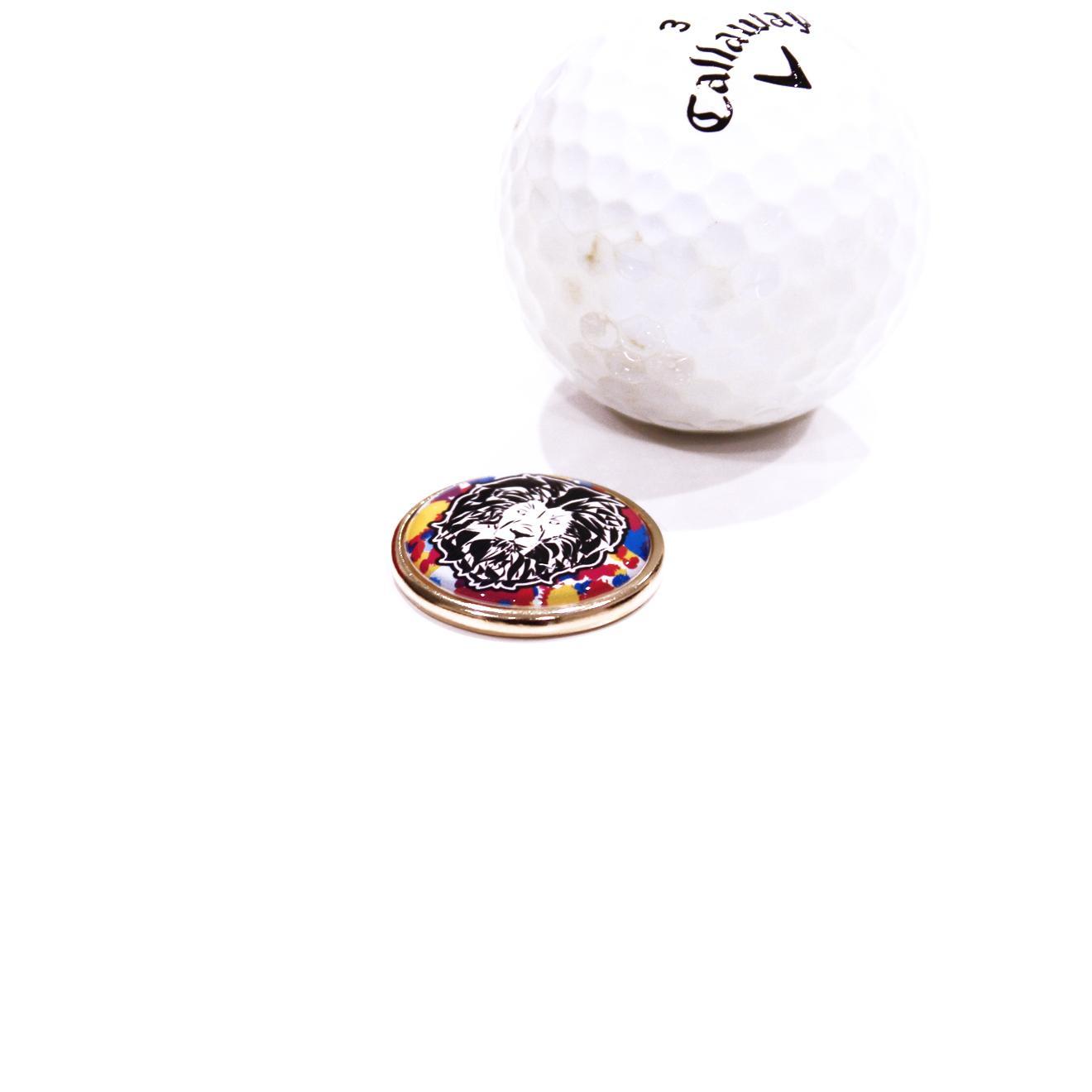 写真:ゴルフマーカー(マーカー単品)
