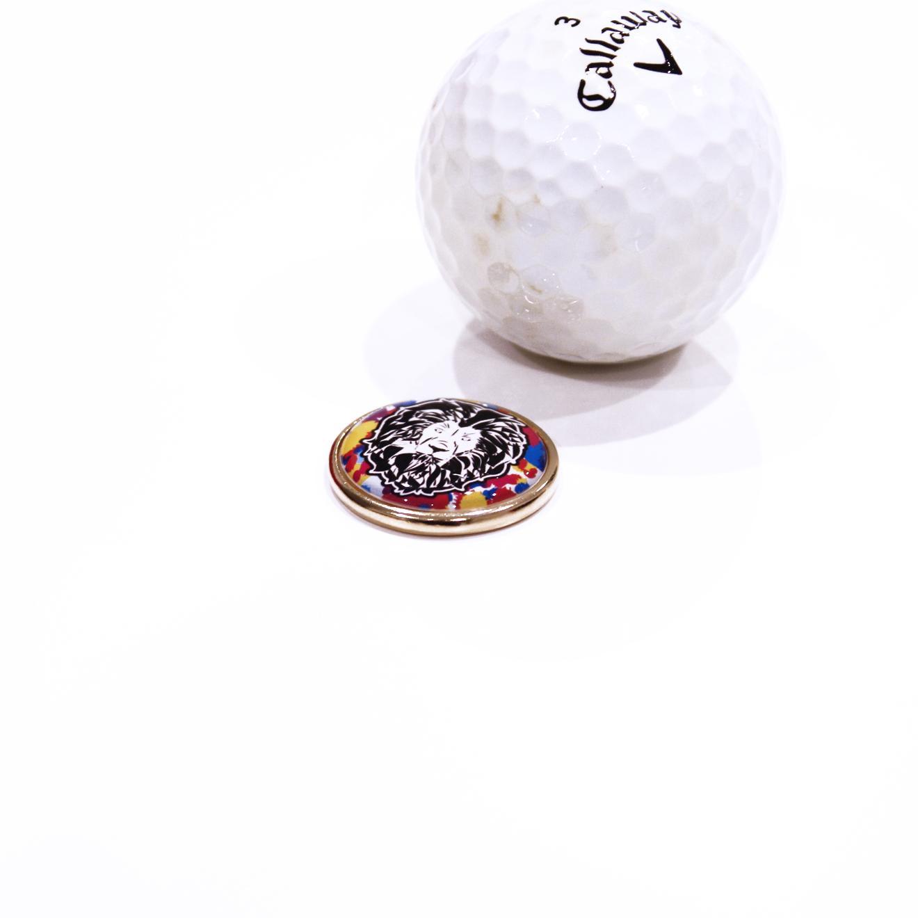 写真:ゴルフマーカーセット
